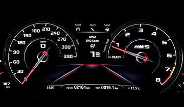 Bmw M5 Competition 2018 305 Kmh In Einer Sportlimousine Auto