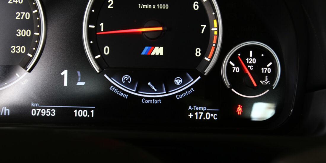 BMW M5, Drehzahlmesser, Rundinstrument