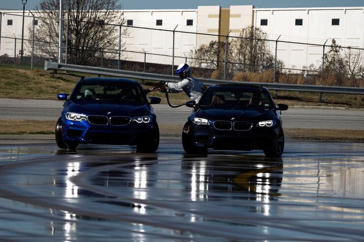 BMW M5 (F90) - Drift - Rekord - BMW USA