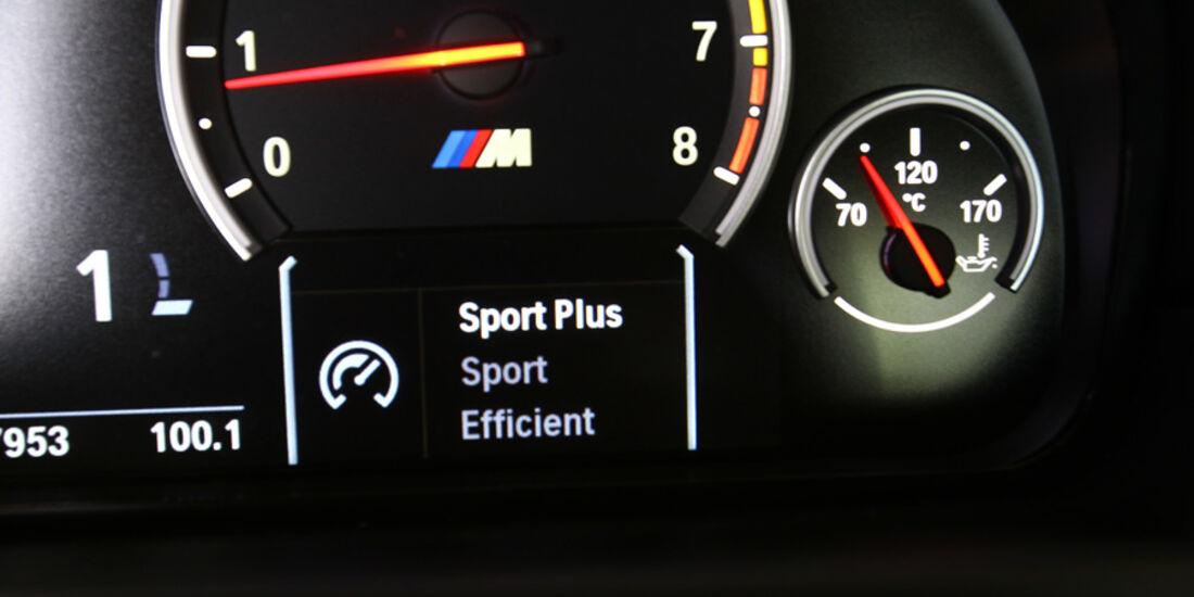 BMW M5, Fahreinstellung
