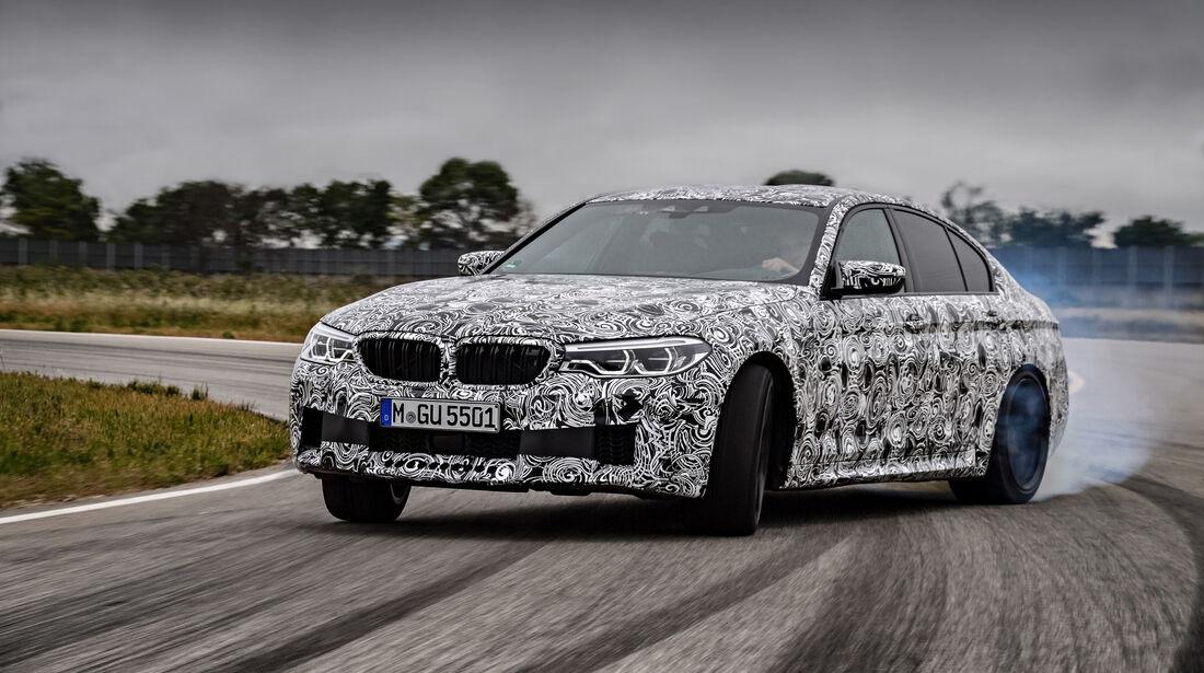 BMW M5 Predrive Miramas 2017