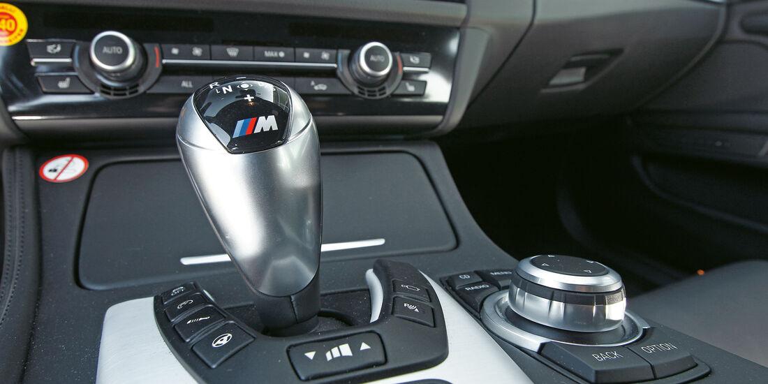 BMW M5, Schalthebel, Schaltknauf