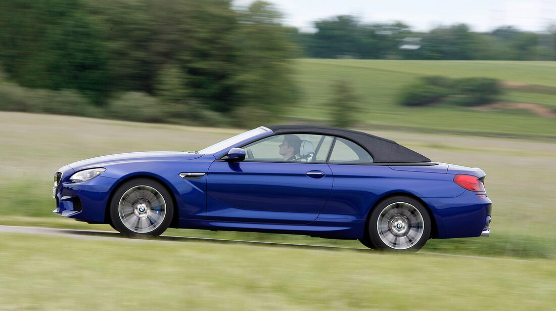 BMW M6 Cabrio, Frontansicht