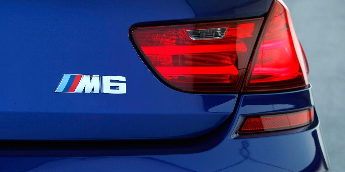 BMW M6 Cabrio, Heckleuchte, Typenbezeichnung