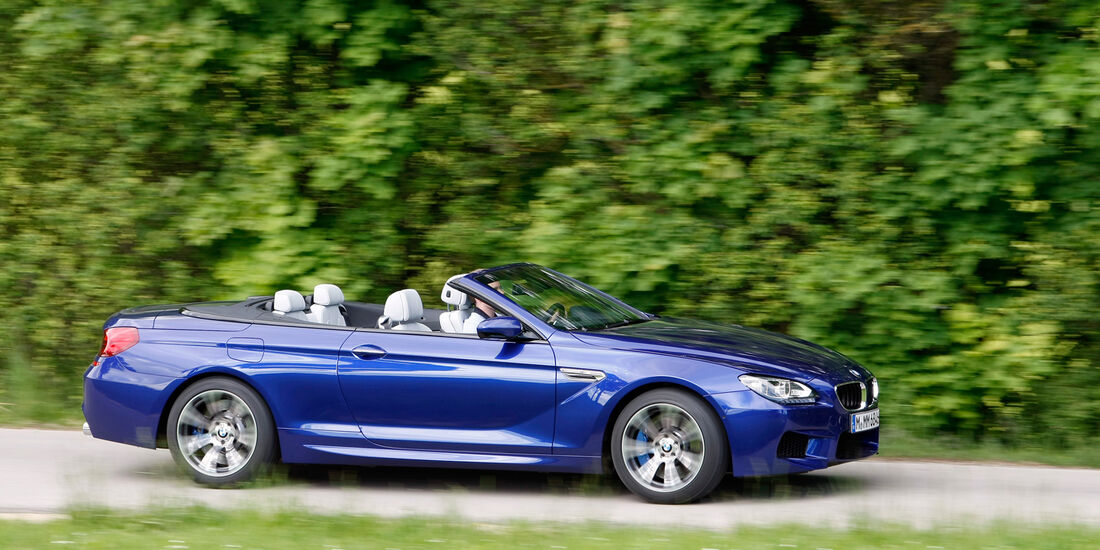 BMW M6 Cabrio, Seitenansicht
