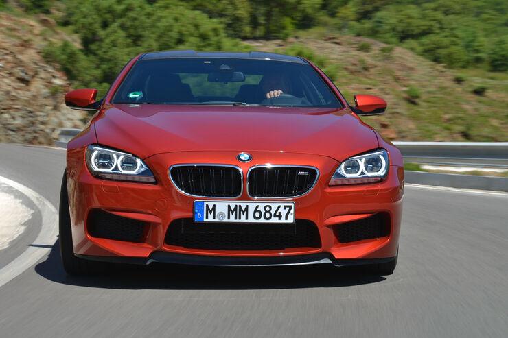 BMW M6, Frontansicht
