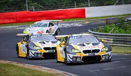 BMW M6 GT3 - Startnummer #98 + #99 - 24h Rennen Nürburgring - 20. Juni 2019