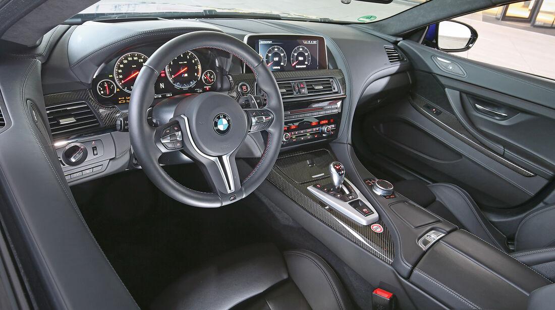 BMW M6 Gran Coupé Competition, Cockpit