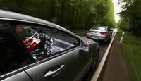 BMW M6 Gran Coupé, Mercedes CLS 63 AMG Shooting Brake, Heckansicht