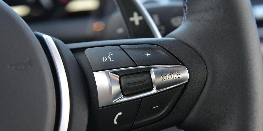 BMW M6, Lenkrad, Bedienelemente