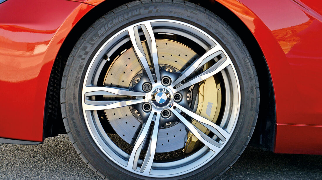 BMW M6, Rad, Felge