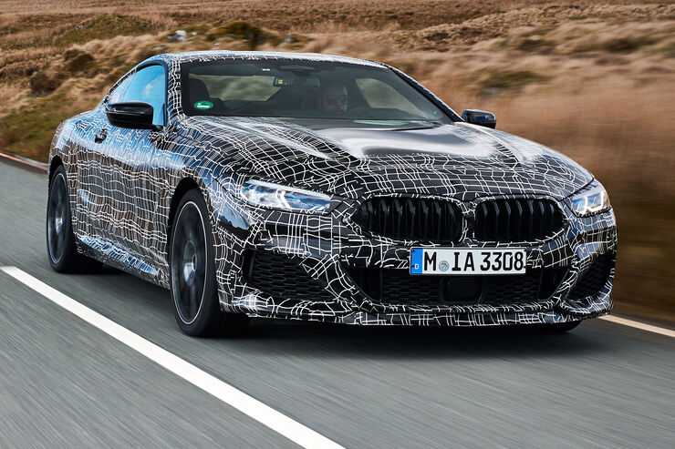 BMW M850i Sperrfrist 26. April, 0.00 Uhr