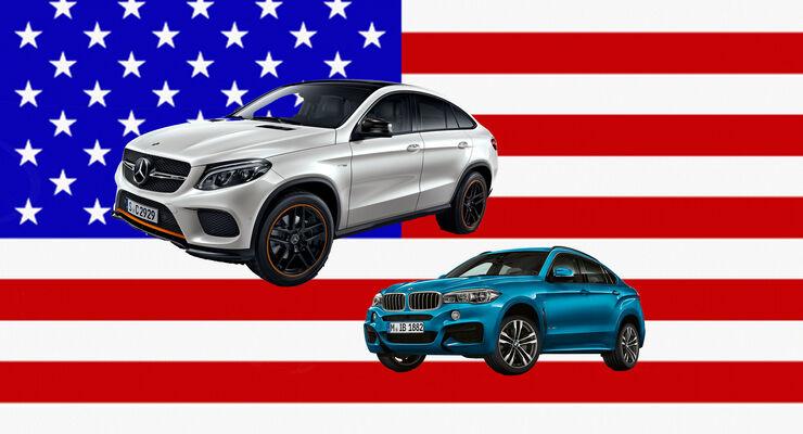 BMW Mercedes USA