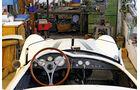 BMW Roadster mit Sonderkarosserie, Cockpit, Lenkrad