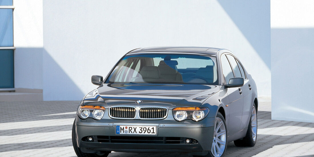 BMW Siebener, BMW 7er, E65, Interieur
