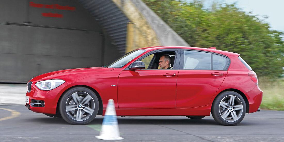 BMW Van, Seitenansicht