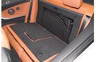 BMW Vierer Cabrio, Sitz Umklappen