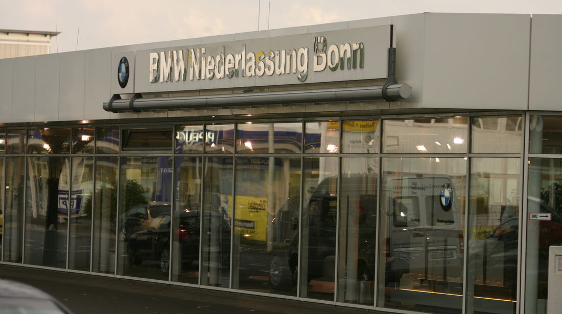 BMW Werkstatt, BMW Niederlassung Bonn