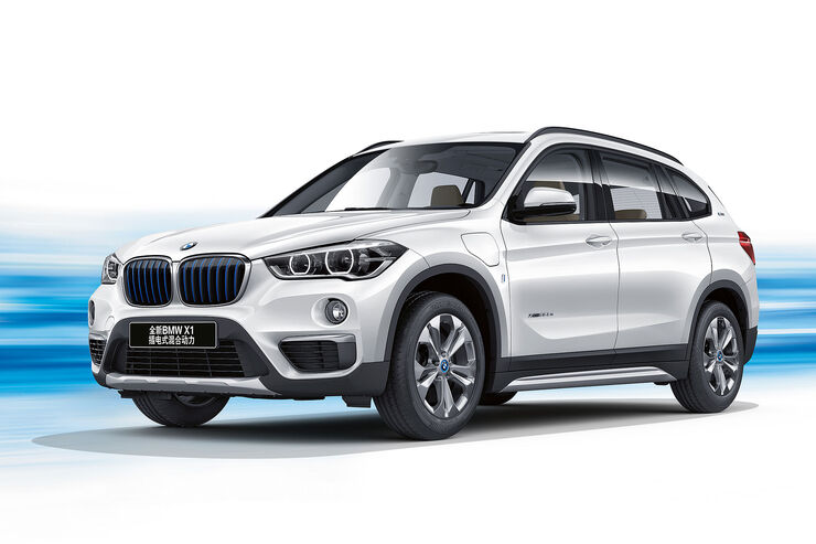 bmw x1 xdrive25le iperformance hybrid suv f r china. Black Bedroom Furniture Sets. Home Design Ideas