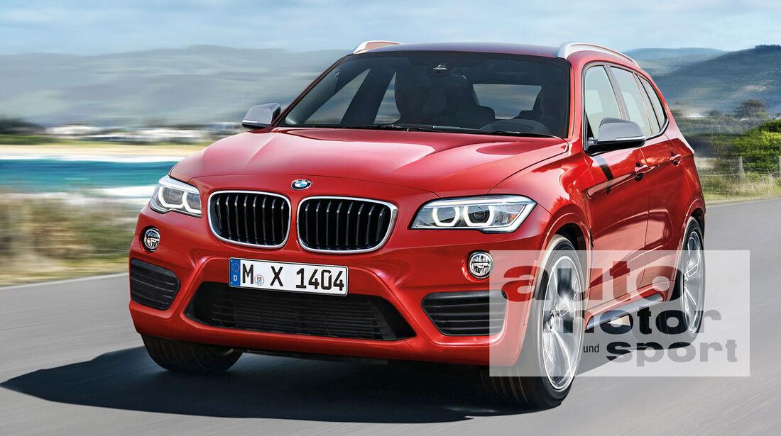 BMW X1, Frontansicht