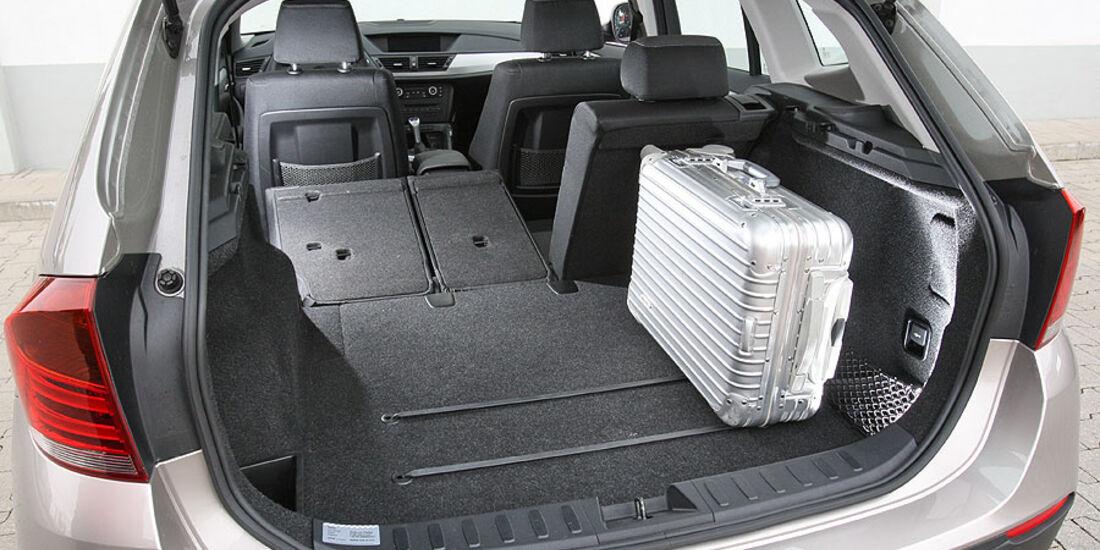 BMW X1, Kofferraum