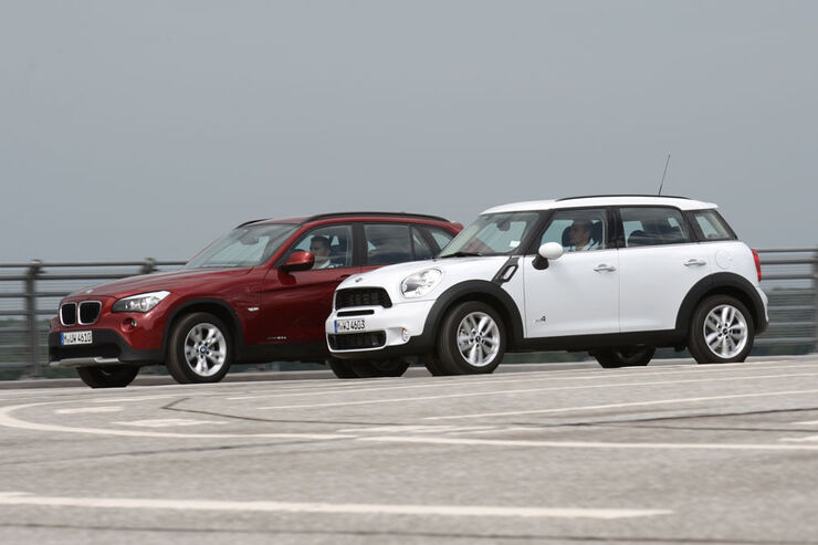 BMW X1, Mini Countryman