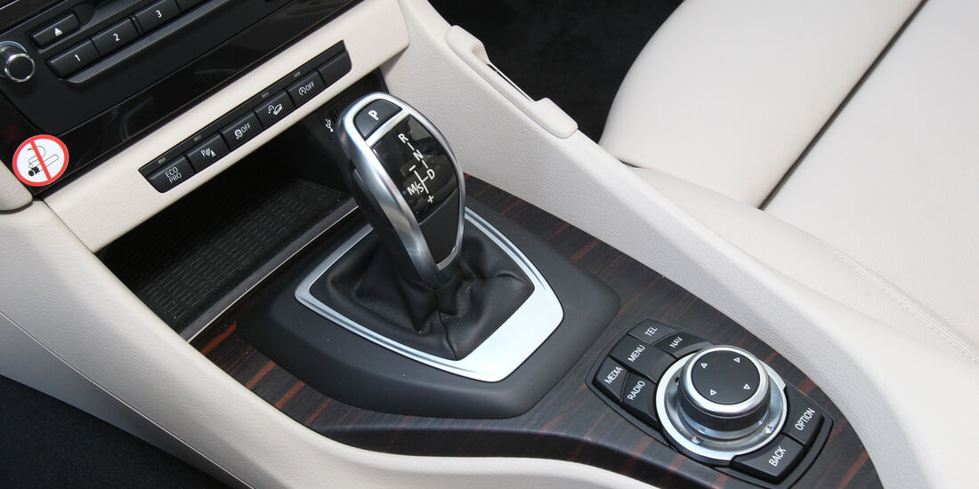 BMW X1 x-Drive 25d, Schalthebel, Schaltknauf