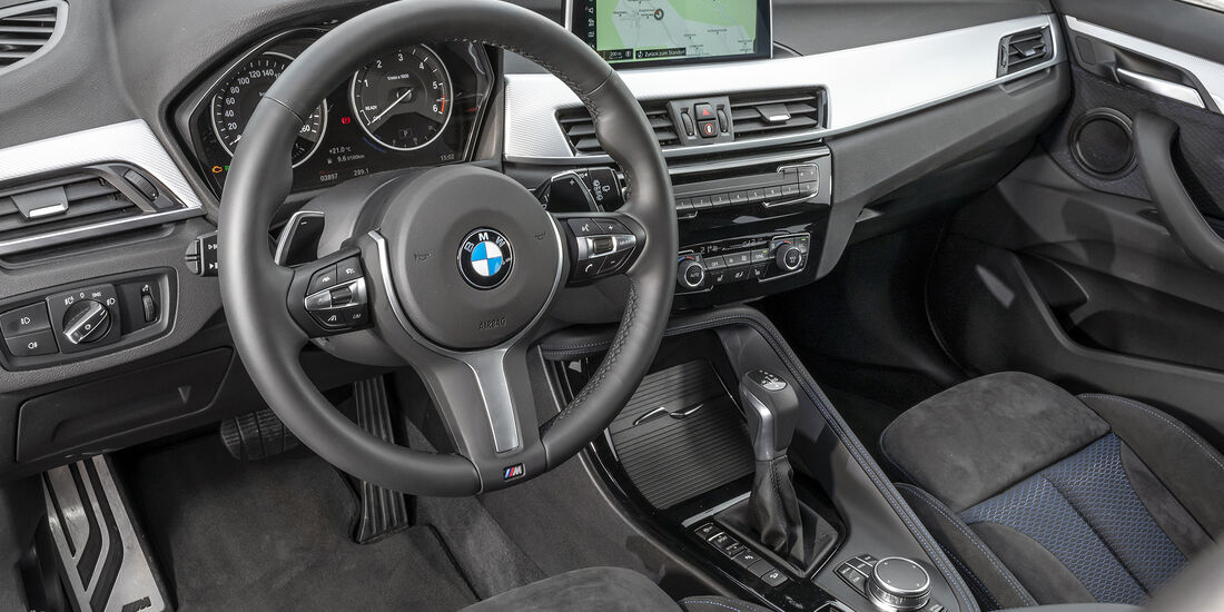 BMW X1 xDrive 25d, Interieur