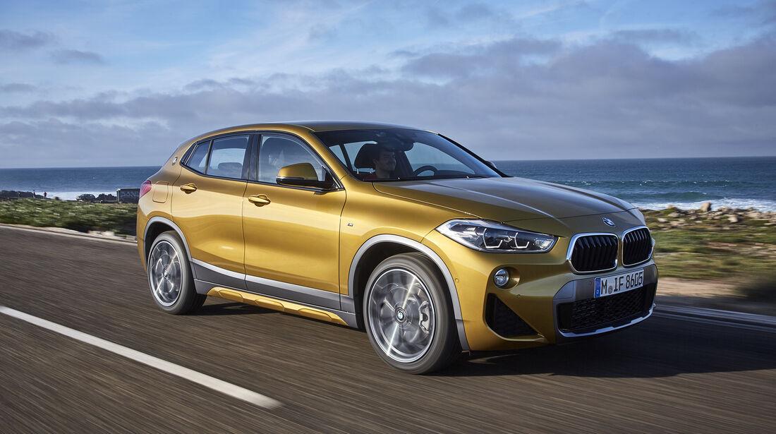 BMW X2, Exterieur