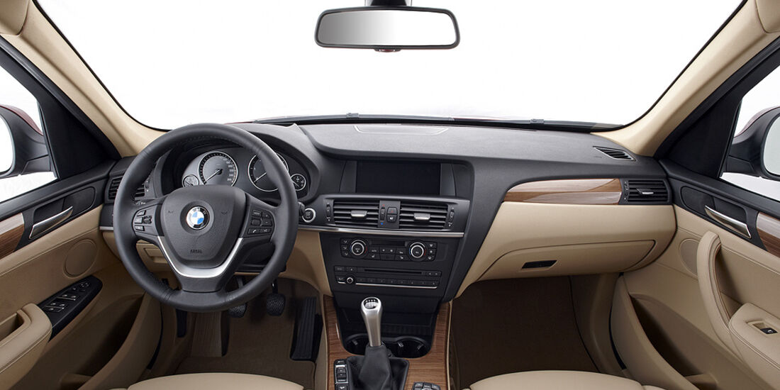 BMW X3 2010, Facelift, SUV, Cockpit
