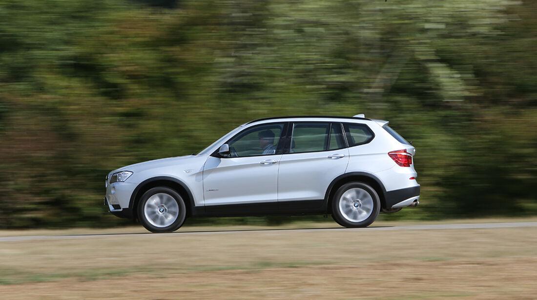 BMW X3 x-Drive 28i, Frontansicht