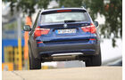 BMW X3 x-Drive 30d, Heck, Rückansicht