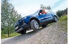 BMW X3 x-Drive 30d, Seitenansicht, Gelände