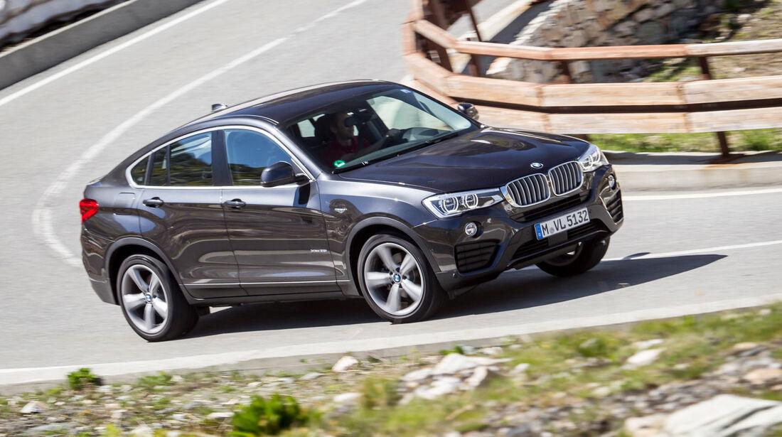 BMW X4, Frontansicht