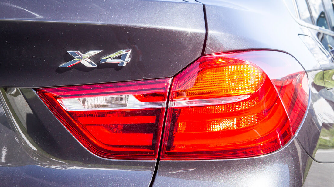 BMW X4, Heckleuchte