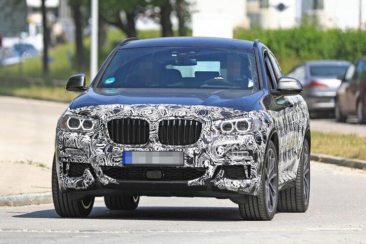 BMW X4 M Erlkönig