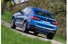 BMW X4 M40i, Heckansicht