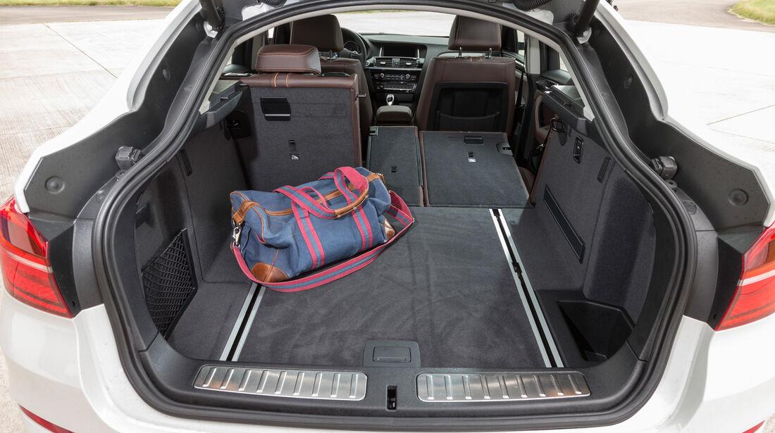BMW X4 xDrive 35d, Kofferraum