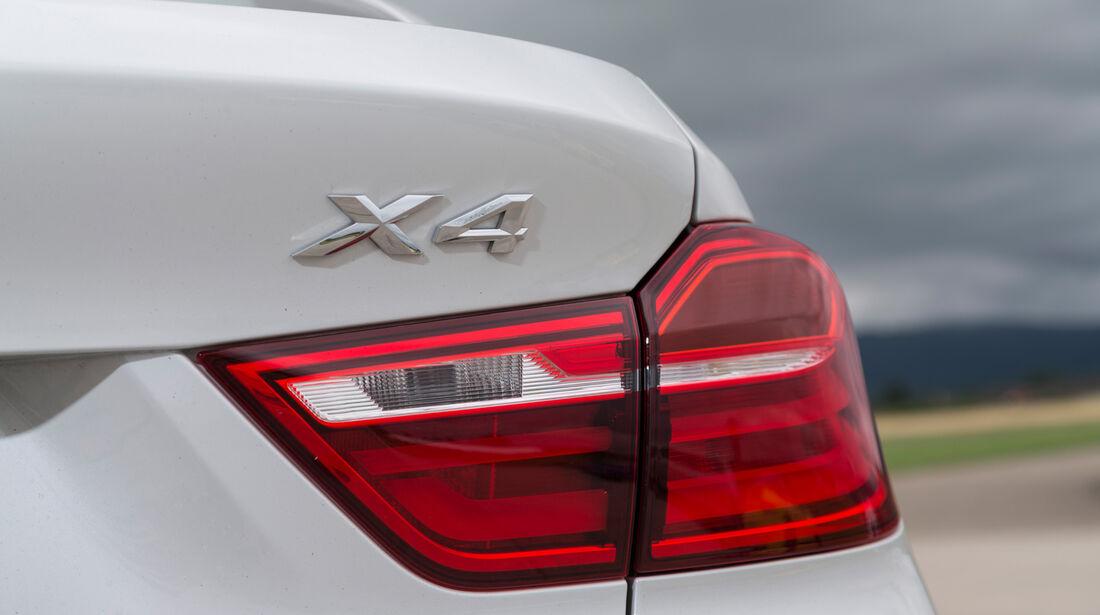 BMW X4 xDrive 35d, Typenbezeichnung