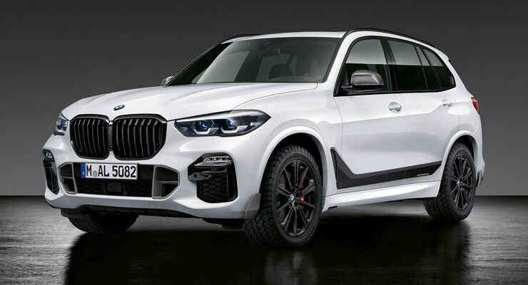 m performance parts für den neuen bmw x5: suv-styling - auto motor