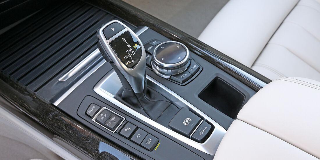 BMW X5 30d, Schalthebel