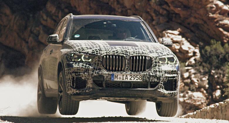BMW X5 (G05) getarnt
