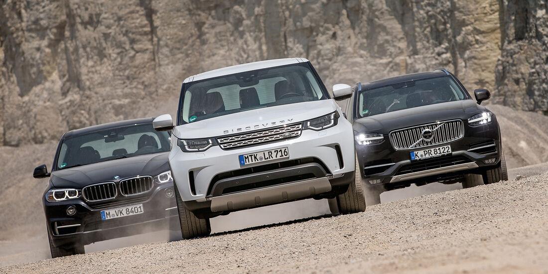 Verwonderend BMW X5, Land-Rover Discovery und Volvo XC90 im Test - auto motor WF-52