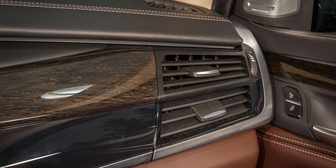 BMW X5, Luftausströmer