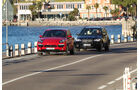 BMW X5 M50d, Porsche Cayenne S Diesel, Frontansicht
