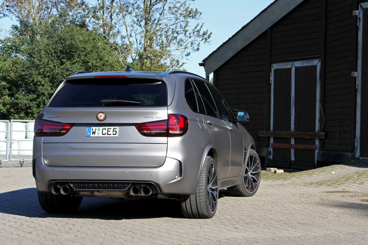 BMW X5 MH X5 700 by Manhart Performance