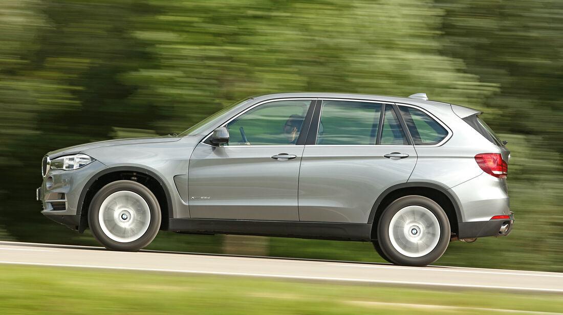BMW X5 xDrive 25d, Seitenansicht