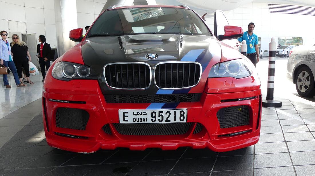 BMW X6 - Carspotting - GP Abu Dhabi 2016