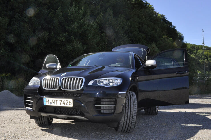 BMW X6 M50d im Innenraum-Check, Front