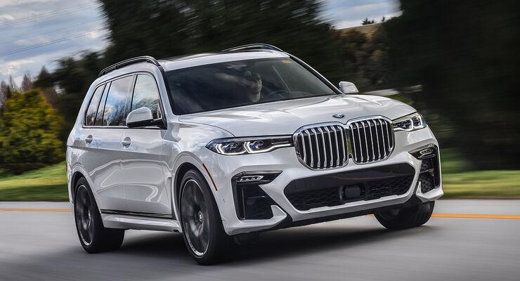 Bmw X7 2019 Im Fahrbericht Auto Motor Und Sport